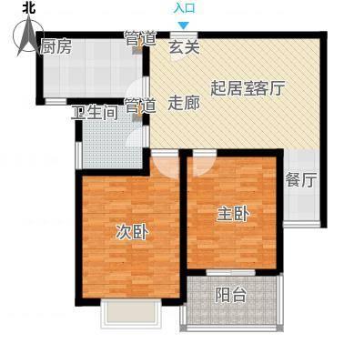 亲贤苑 2室 户型图-副本