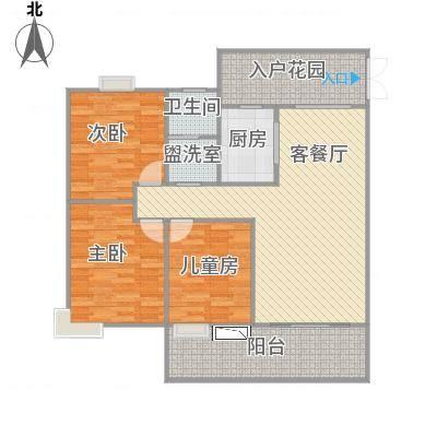 合肥_水安盛世桃源_118m^2原始户型图