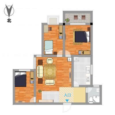 104三室一厅
