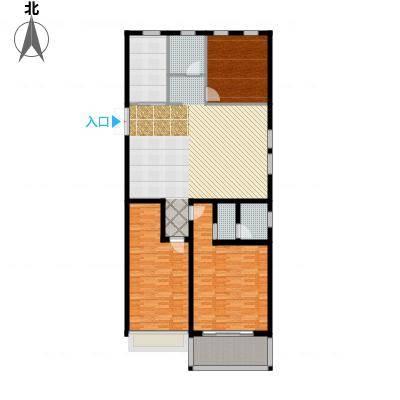 正德广场户型3室1厅3卫1厨-副本