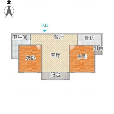 广洋华景苑02室双南