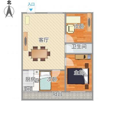 三室一厅一厨一卫