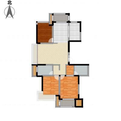 建东悦海湾140.40㎡户型3室2厅-副本