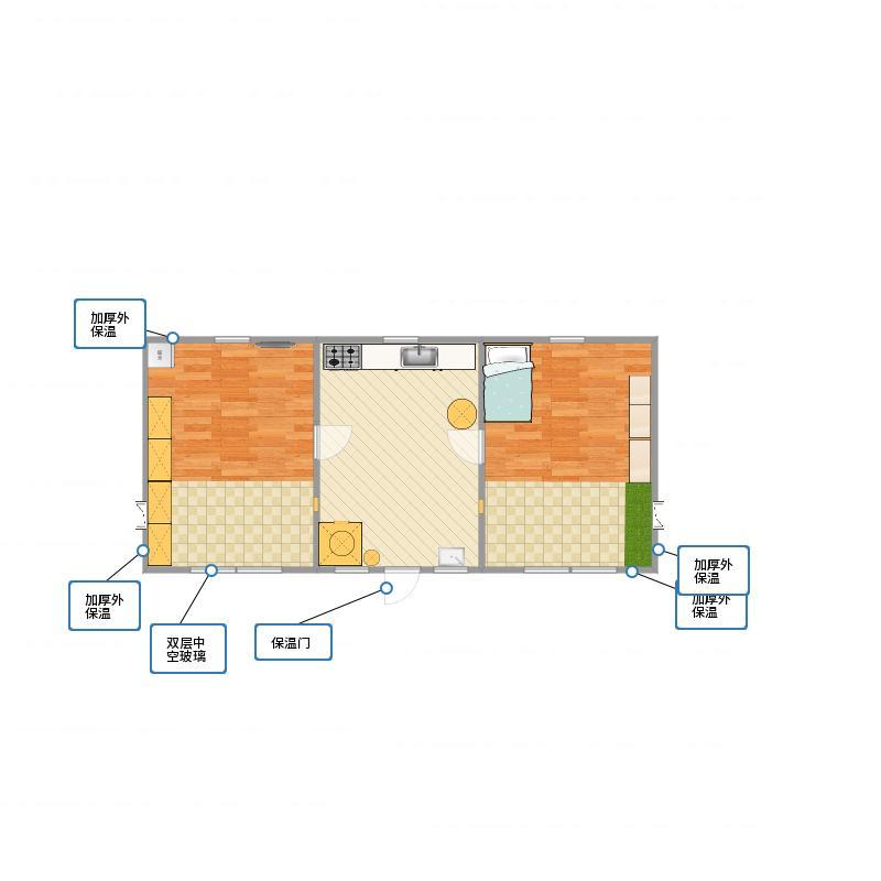 农村房子 户型图