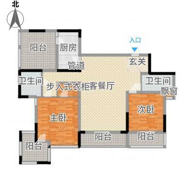 万科华庭万科华庭户型图2室2厅户型图2室2厅2卫1厨户型2室2厅2卫1厨-副本