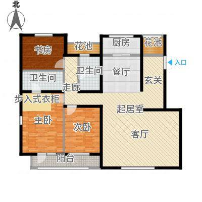 泰禾·北京院子泰禾・北京院子南入户4层D户型-副本