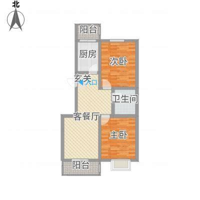 锦绣西双90.81㎡锦绣西双D户型2室2厅1卫90.81㎡户型2室2厅1卫-副本