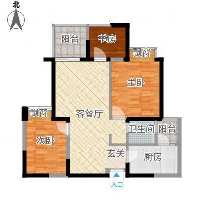 小平岛E组团小平岛E组团2室户型2室-副本