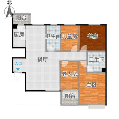 四室两厅两卫136.5-副本