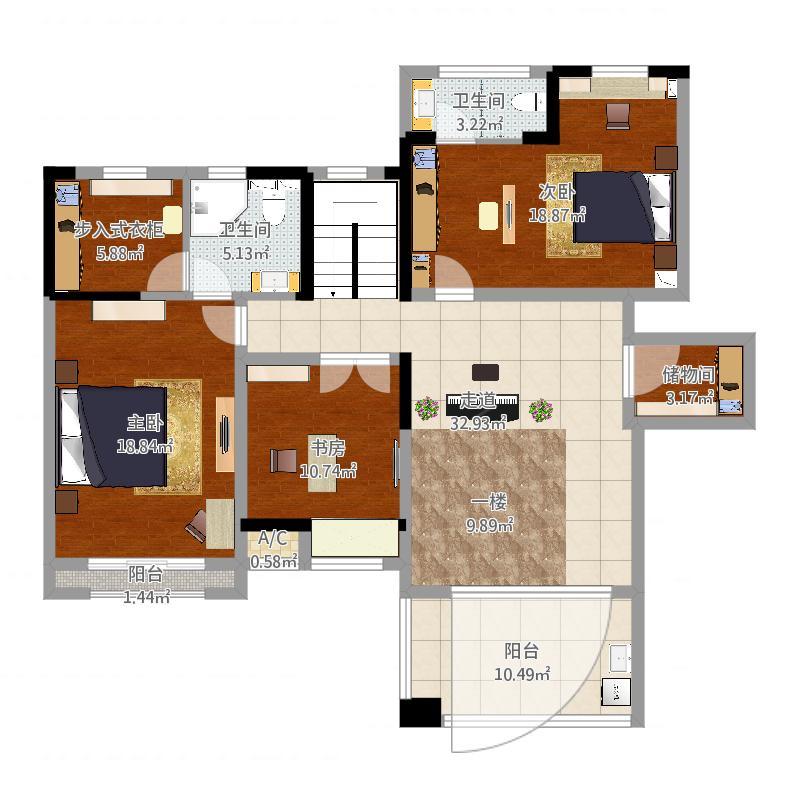 世茂香槟湖二楼户型图大全,装修户型图,户型图分析,图图片