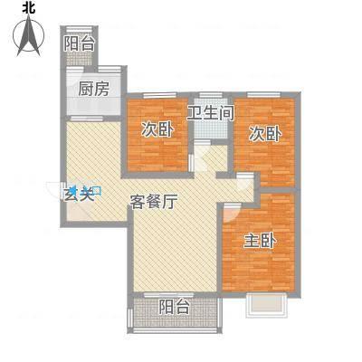 侯马时代广场11.81㎡B户型-副本