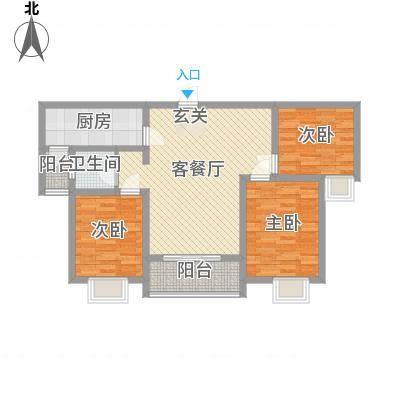 侯马时代广场1.70㎡L户型-副本