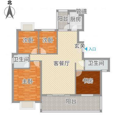 家运天城116.20㎡家运天城B组团34JO号楼户型4室2厅2卫1厨116.20㎡户型4室2厅2卫1