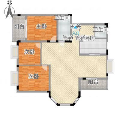 康城水云间康城水云间户型图3室2厅2卫1厨户型10室-副本