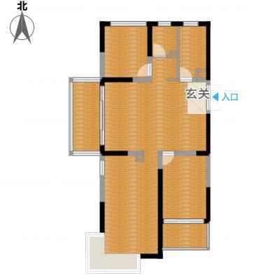 大唐世纪豪庭118.00㎡大唐世纪豪庭户型图F户型3室2厅2卫1厨户型3室2厅2卫1厨-副本