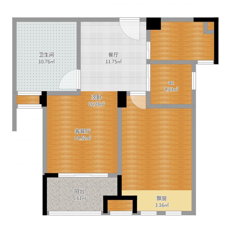 江苏省 南京市 溧水县 南京_橡树城_2016-03-12-1339 户型图