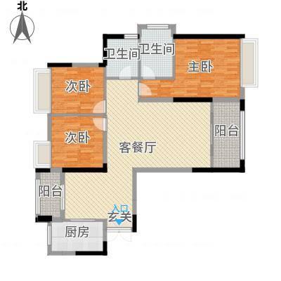 汇金豪庭1-2#朝南A2/4户型-副本