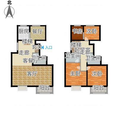 中铁四季公馆96.90㎡高层标准层A1户型-副本