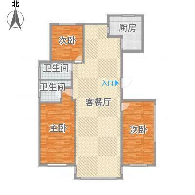 半岛公馆-三室两厅两卫-192㎡-副本