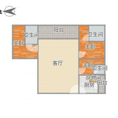 华发新城二期185平方03户型-副本