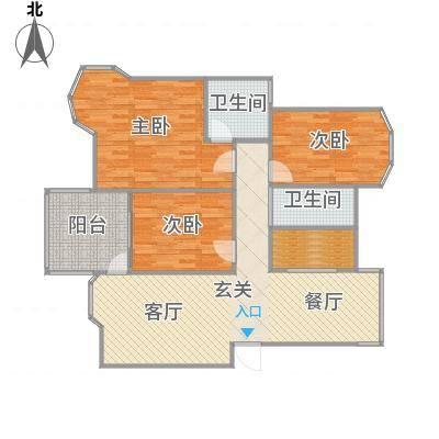 世纪清华三室两厅