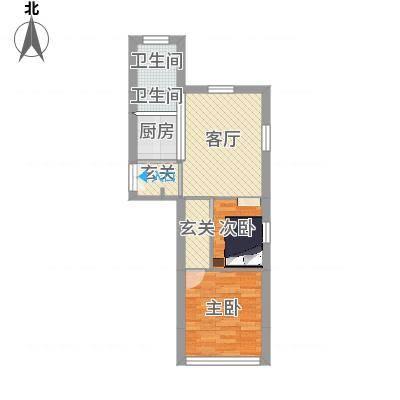 两室一厅-开放式厨房