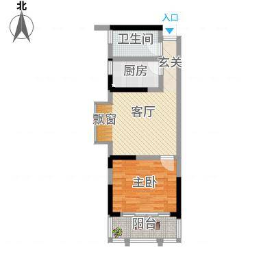 云鼎公馆二期3号户型-副本