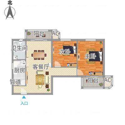 上海_天山公寓_2016-04-04-0845