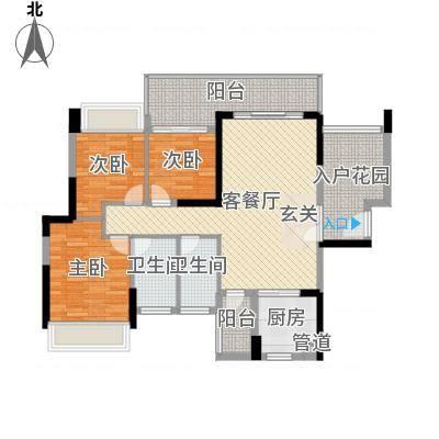 深圳东星河丹堤三期11/12/13栋1单元03户型-副本