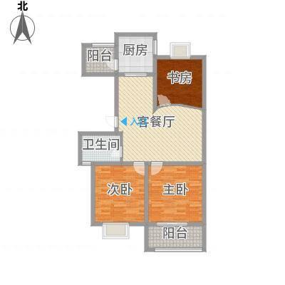 星鑫家园112.00㎡星鑫家园户型图3室2厅1卫1厨户型10室-副本