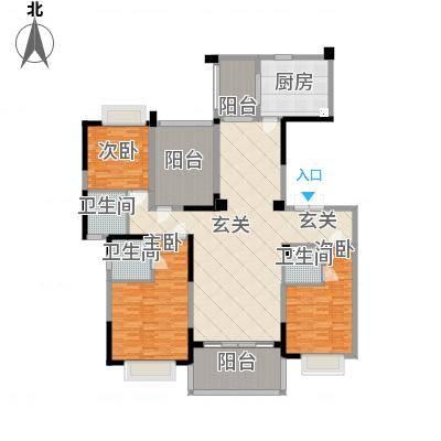 天骄御峰185㎡01户型3室2厅3卫1厨185.00㎡