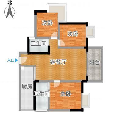 锦绣新城五号楼2号户型