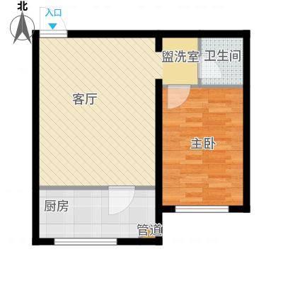 金川新城53.30㎡户型-副本