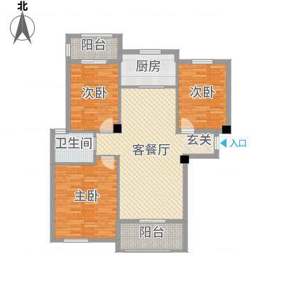 宏宇・龙湖湾115.79㎡宏宇・龙湖湾户型13室2厅1卫115.79㎡户型3室2厅1卫-副本