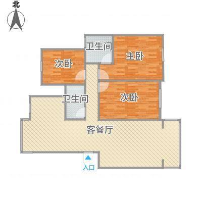 翠湖天地三室两厅