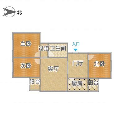 龙兴园北区4--1-601