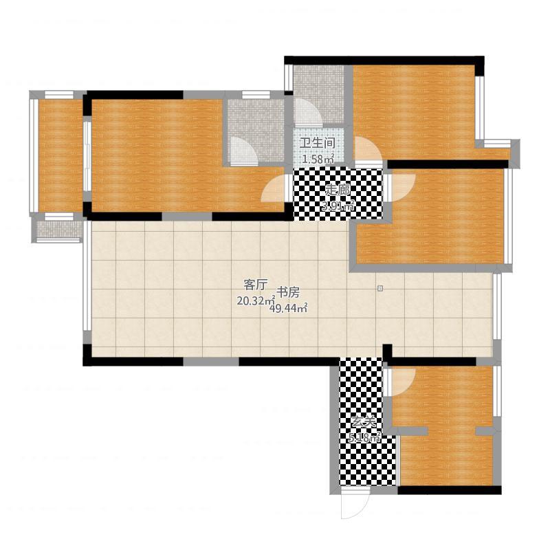 求空间规划最合理的设计!