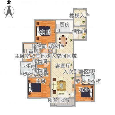 丽景福苑四室两厅两卫A4
