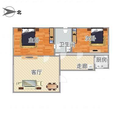 两室一厅南北通透-副本
