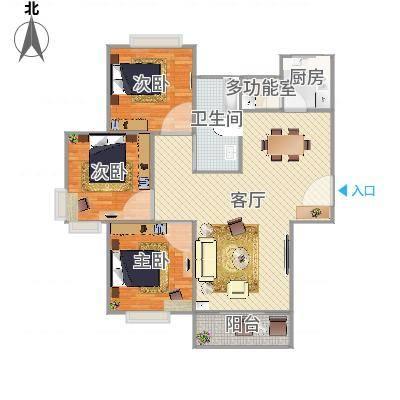 上海_中大丽都---109.5m2户型_2016-04-11-1622