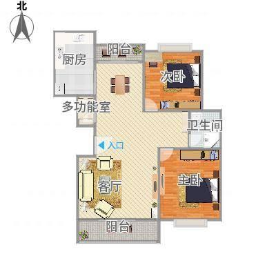 上海_中大丽都---98.5m2户型_2016-04-11-1707