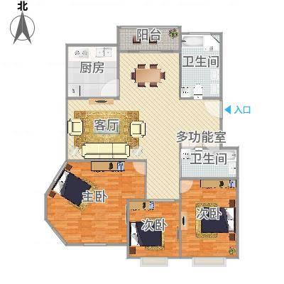 上海_中大丽都---128m2户型_2016-04-11-1720