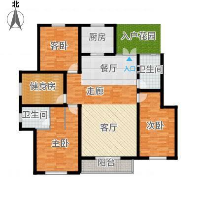 开元豪庭177.18㎡楼王22面积17718m户型-副本