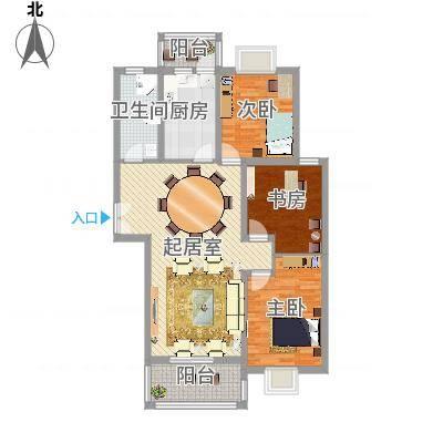 周庄新园3居室户型-副本