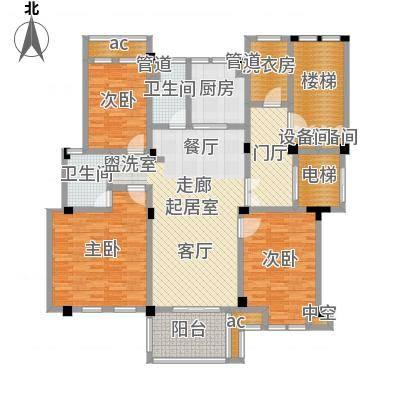 大华紫颐园149.00㎡C2户型3室2厅-副本