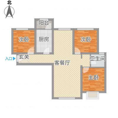 西荣阁11.00㎡卡改2-02户型-副本