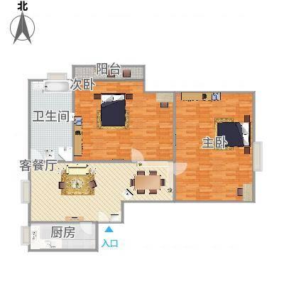 上海_江南世纪新苑2号1403_2016-04-15-1500