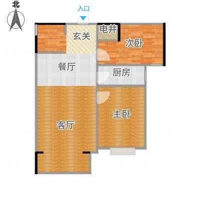 92平两室一厅-副本