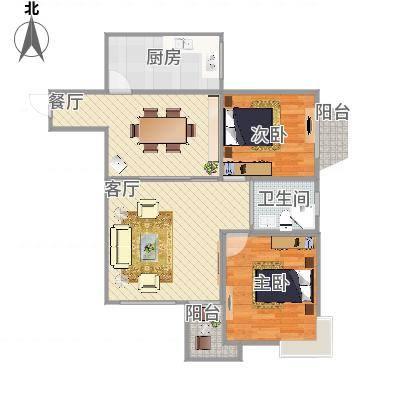 上海_百花公寓3-2701_2016-04-16-1859