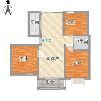 汇景豪庭85.22㎡汇景豪庭户型图C户型3213室2厅1卫1厨户型3室2厅1卫1厨-副本